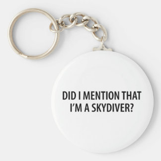 I'm A Skydiver Keychain