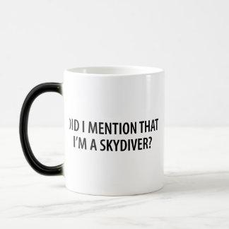 I'm A Skydiver Morphing Mug