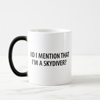 I'm A Skydiver 11 Oz Magic Heat Color-Changing Coffee Mug