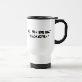 I'm A Skydiver Mug