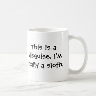 I'm a sloth coffee mug