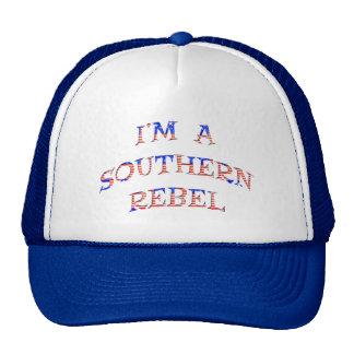 I'm A Southern Rebel Hats Caps