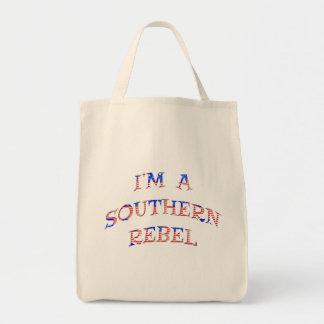 I'm A Southern Rebel Tote Bags