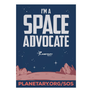 I'm a Space Advocate Poster
