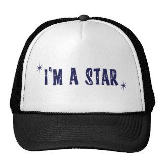 I'm a star mesh hat
