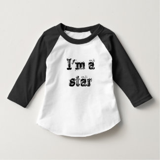 I'm a Star toddler tee