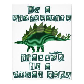 I'm a Stegosaurus Custom Announcement