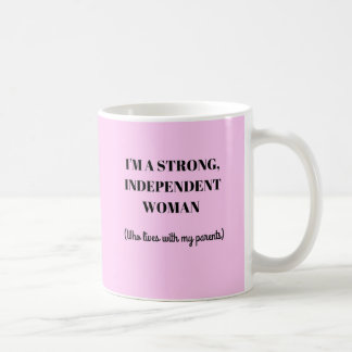 I'm a Strong Independent Woman - Funny Mug