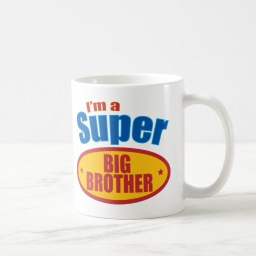 I'm a Super Big Brother Coffee Mug