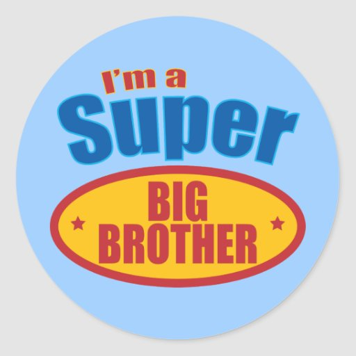 I'm a Super Big Brother Sticker