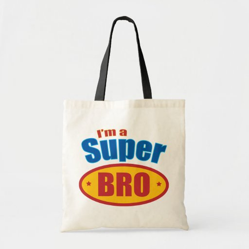 I'm a Super Bro Super Hero Brother Tote Bag