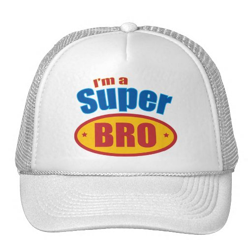 I'm a Super Bro Super Hero Brother Mesh Hat