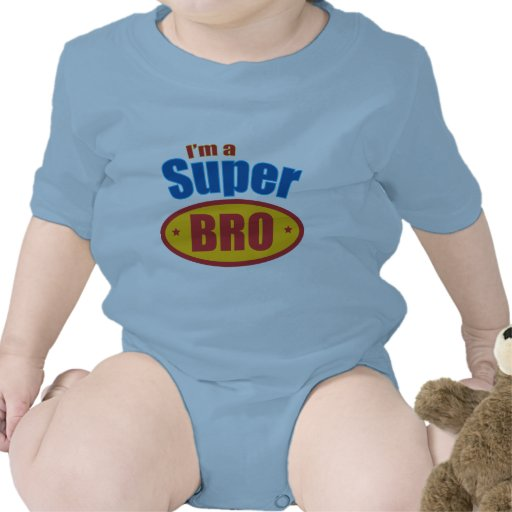 I'm a Super Bro Super Hero Brother Rompers