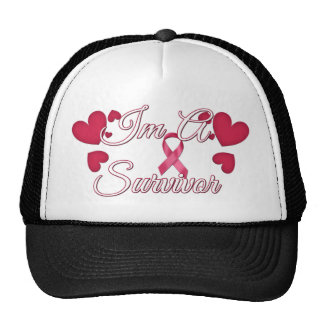 I'm A Survivor Breast Cancer Tees and Gifts Cap