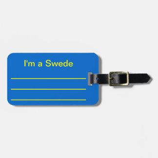I'm a Swede Travel Bag Tags