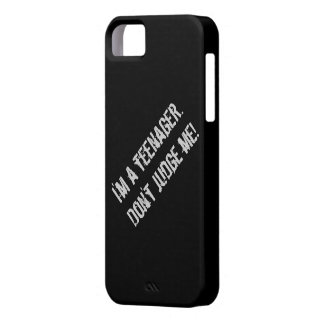 I'm a teenager iphone case. iPhone 5 cover