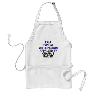 I'm a 'typical white person' appalled by... standard apron
