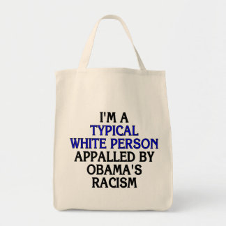 I'm a 'typical white person' appalled by... canvas bag