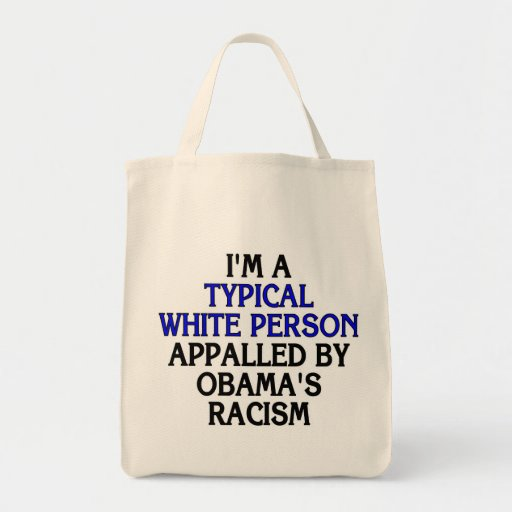I'm a 'typical white person' appalled by... tote bag