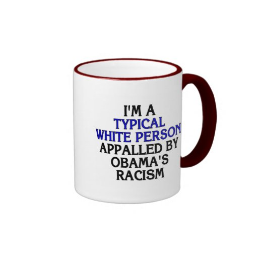 I'm a 'typical white person' appalled by... coffee mugs