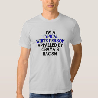 I'm a 'typical white person' appalled by... tees