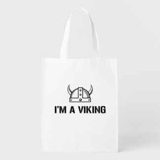 I'm a Viking Reusable Grocery Bag