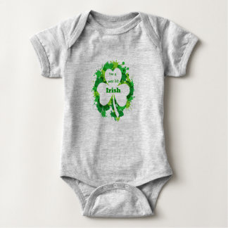 I'm a Wee Bit Irish St. Patricks Day Fun Quote Baby Bodysuit