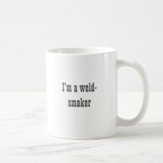 I'm a weld-smoker basic white mug