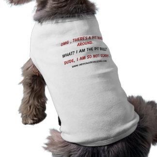 I'm a WHAT??? Sleeveless Dog Shirt