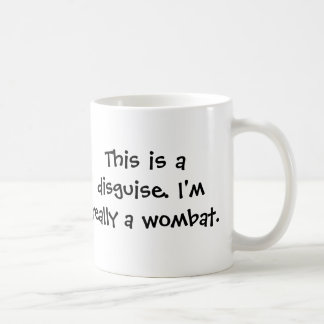 I'm a wombat coffee mug
