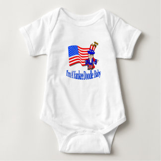 I'm A Yankee Doodle Baby Baby Bodysuit