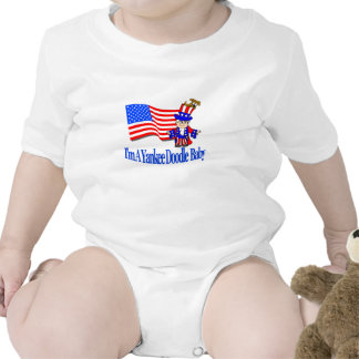 I'm A Yankee Doodle Baby Bodysuit