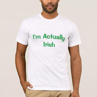I'm Actually Irish T-Shirt