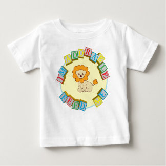 I'm Adorable Feed Me! Lion Doodle Noodle Designs Baby T-Shirt