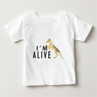 I'm Alive - Thylacine Baby T-Shirt