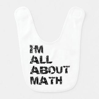 I'm All About Math Bib