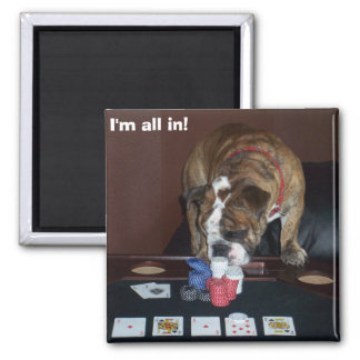 I'm all in! magnet