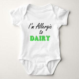 I'm Allergic to DAIRY Baby Bodysuit