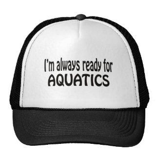 I'm always ready for Aquatics. Mesh Hat