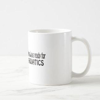 I'm always ready for Aquatics. Mug