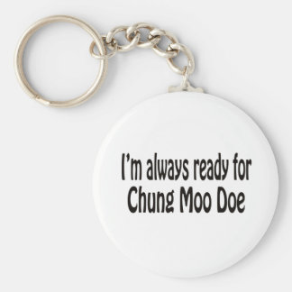 I'm always ready for Chung Moo Doe. Keychain