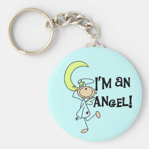 I'm an Angel Keychain