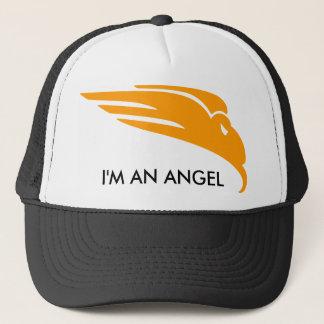 I'M AN ANGEL TRUCKER HAT