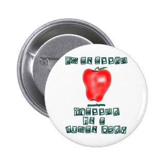 I'm an Apple Pinback Button
