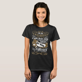 Im An Aquarius Woman I Was Born With My Heart T-Shirt