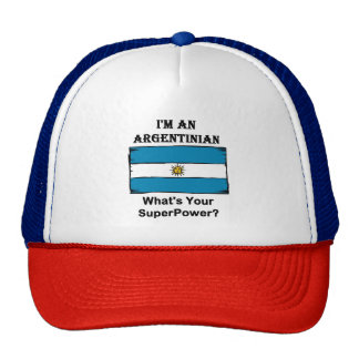 I'M An Argentinian, What's Your Superpower? Cap