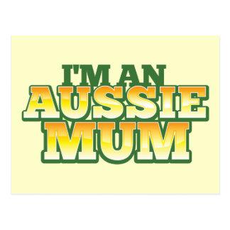 I'm an AUSSIE MUM! Postcards