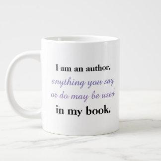 I'm an author. large coffee mug