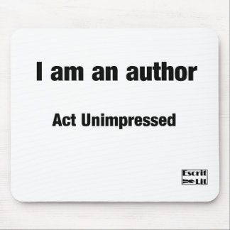 I'm an author mouse pad