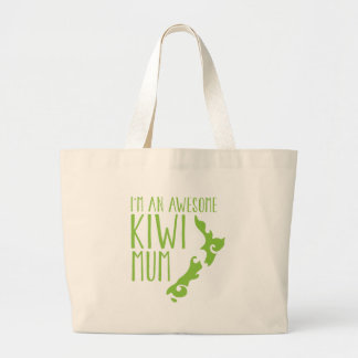 I'm an awesome KIWI MUM New Zealand Canvas Bags